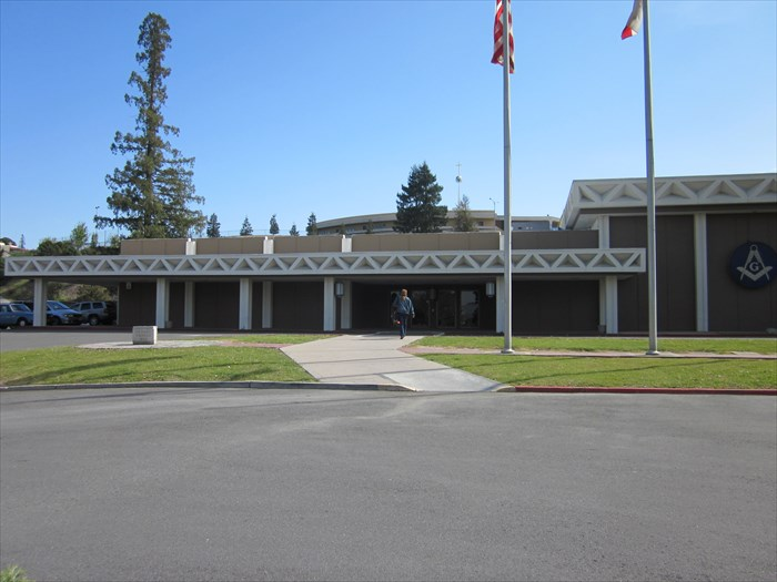 San Jose Masonic Center building front view
